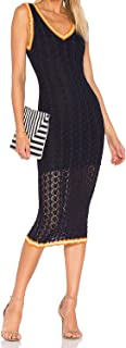 Ronny Kobo Womens Gwendolyn Dress Navy Combo Small, Medium