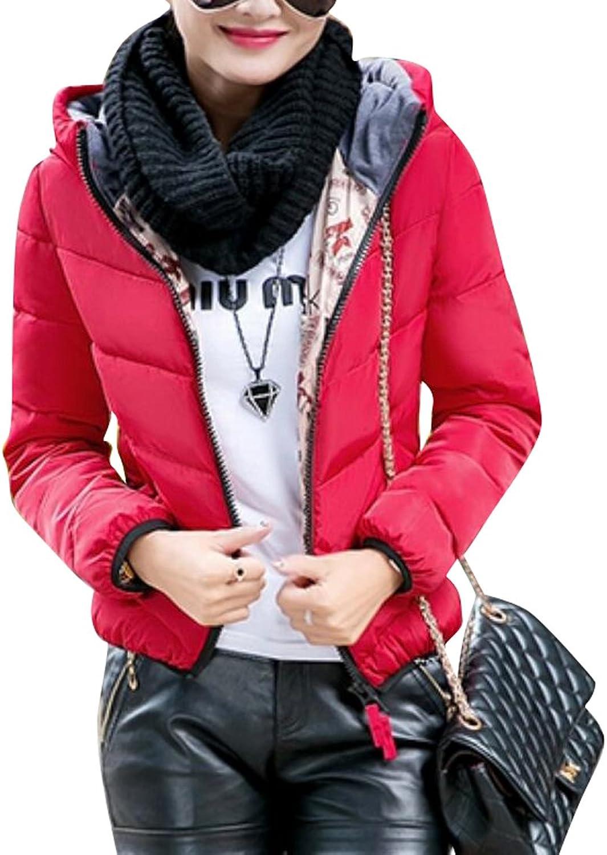 Yayu Womens Packable Lightweight Outdoor Puffer Down Jacket with Hood