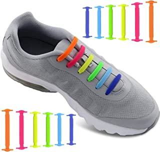 YSLC Texture Stripe Gray Lightweight Running Shoes for Women Sneaker Rubber Sole Breathable Shoes