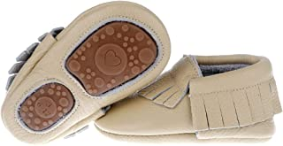 6fcd71b7be9 Pidoli Baby Leather Shoes-Unisex Girls Boys Moccasins Rubber Sole