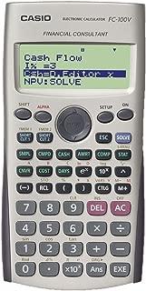 Calculadora financeira Casio c/monitor de 4 linhas FC-100V