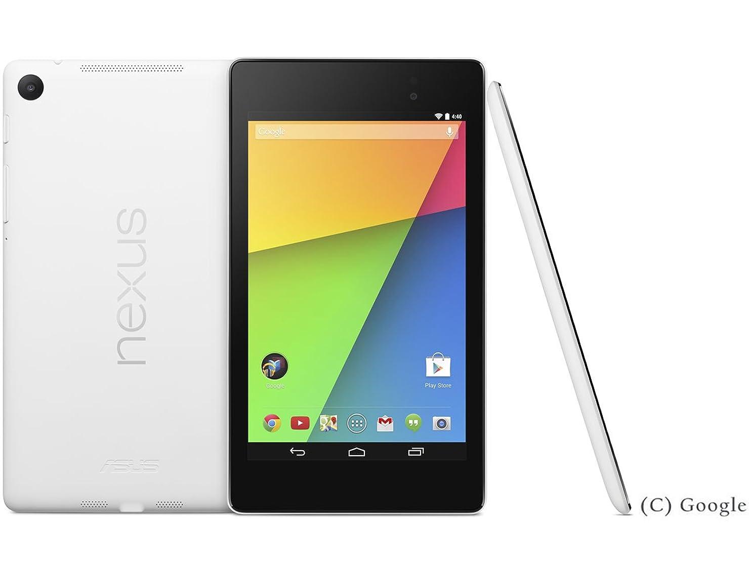 典型的な一貫性のない動物Nexus 7 Wi-Fiモデル 32GB ME571-WH32G ホワイト [2013] (ホワイト)