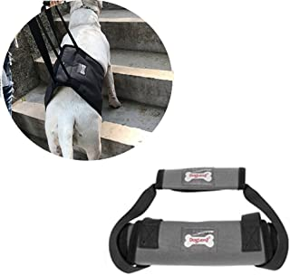 Vinca Mascot Dog Lift Support Harness Rehabilitation Assist Lifting Sling Help to XL Medium and Large Pet with ACL Canie Walking Climb Stairs Mobility and Recovery