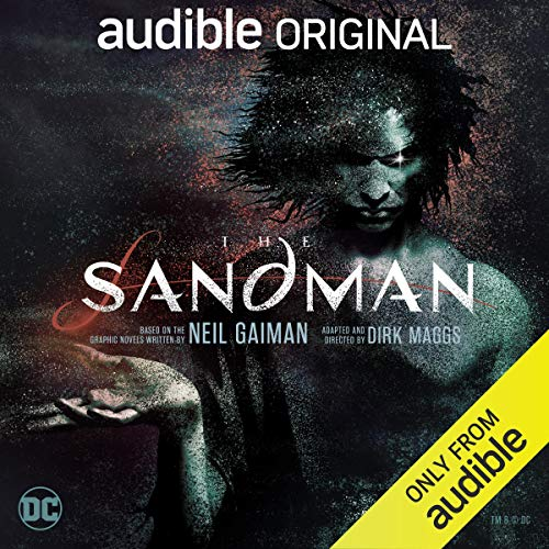 The Sandman Audiobook By Neil Gaiman,                                                                                        Dirk Maggs cover art