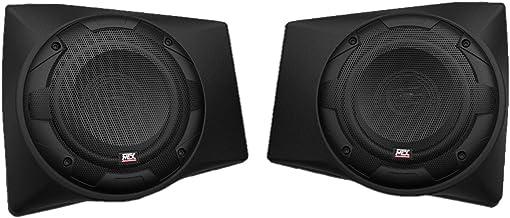 $199 » MTX Audio RNGRPOD65 Polaris Ranger 6.5 Inch 130 Watt 4 Ohm Dash Mount Speaker Tweeter Pods with All Weather Construction a...