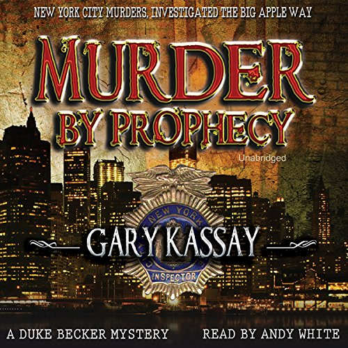 Murder by Prophecy audiobook cover art