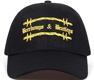 TorontoFinds, Custom Post hat, beerbongs Custom Adjustable hat for Men and Women, Unisex Strapback Hats in Black
