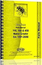 Galion 450 Grader Parts Manual