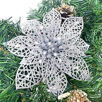 Best flower christmas ornaments Reviews
