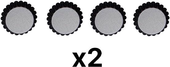 "Norpro Nonstick Mini Tartlet Custard Quiche Pastry Pie Pan 3"" Dia Set/4 (2-Pack)"