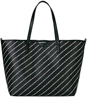 0275afbd15 Karl Lagerfeld BORSA SHOPPING K/STRIPE BLACK