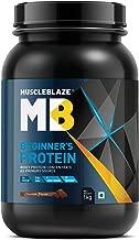 MuscleBlaze Beginner's Whey Protein Supplement (Chocolate, 1Kg)