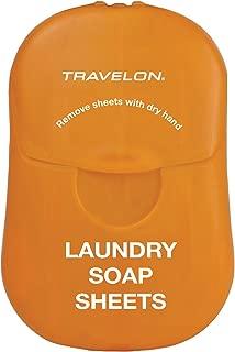 Travelon Laundry Soap Sheets, 50-Count