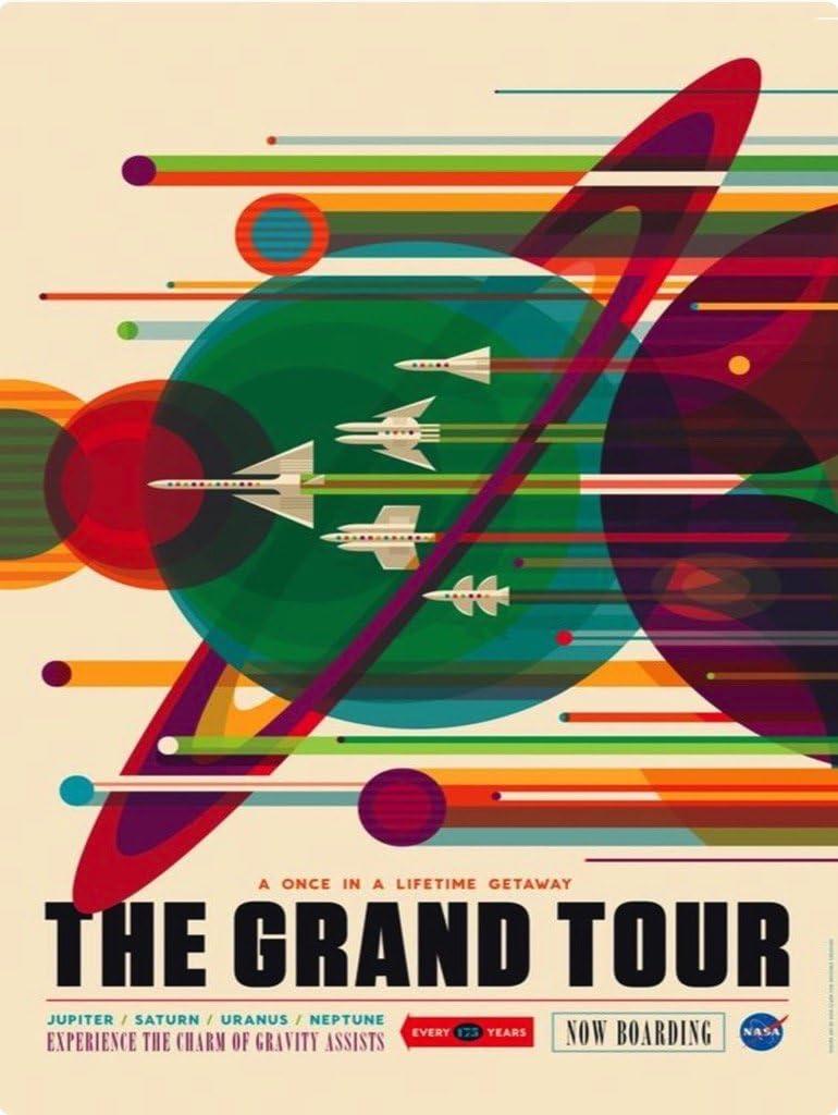 free Bargain New York Puzzle Company - NASA Piece Grand The Tour Jigsa 1000