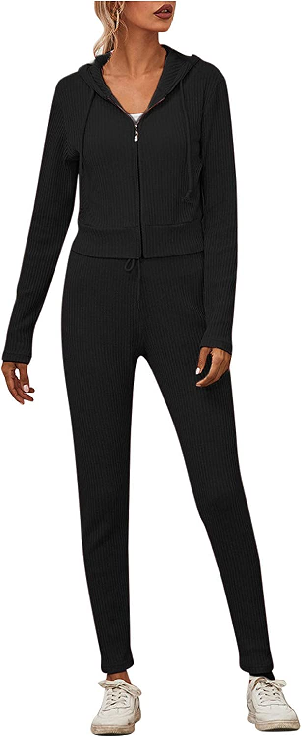 Women's Cheap sale Casual Home Boston Mall Suit Waffle Solid Color Winter Full Elegant