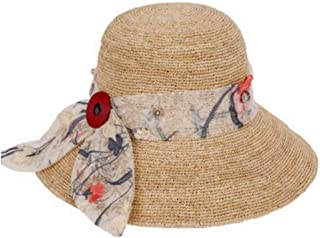 Hats Cool Summer Hat Outdoor Hat Women's Beach Sunshade Hat Fashion (Color : Beige, Size : One Size)