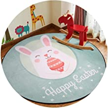 Area Rugs Round Floor Mat Nursery Rugs Modern Minimalist Cartoon Style Suitable for Home Living Room Bedroom Mat Thickness...