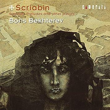 Scriabin: Sonatas, Preludes and other pieces