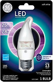 Frosted 1650 Lumen DLC UL Pack of 25 80 CRI Plug n Play Pack of 25 GE 61271 LED12ET8//4//840 Plastic LED Tube Lamp 70,000 Hours 4000K G13 Base