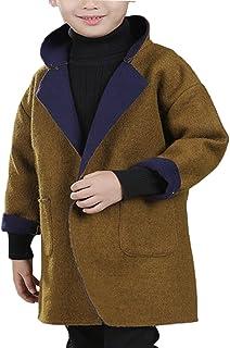 BAISNOW ボーイズコート ガールズコート チェスターコート トレンチコート 子供服 中厚手のコート 新型 冬服 男の子