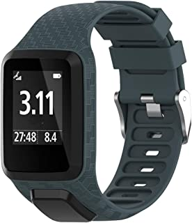 comprar comparacion Tosenpo - Correa de Silicona para Reloj Inteligente Tomtom, Repuesto para Spark/Spark 3/Golfer 2/Adventurer/Runner 2/3