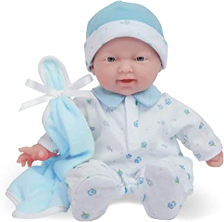 Best JC Toys Caucasian 11-inch Small Soft Body Baby Doll La Baby | Washable |Removable Blue Outfit w/ Cap & Blanket | for Children 12 Months + Reviews