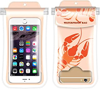 Meiyiu Transparent Waterproof PVC Phone Bag Free Touching Phone Cover