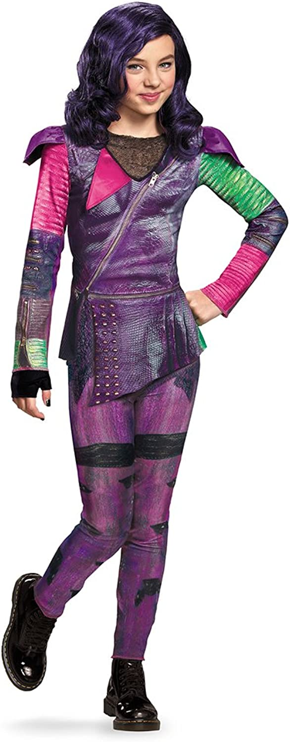 Disguise Costumes 88112L Mal Isle of The Lost Classic Costume, Small (4-6x)