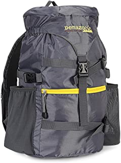 Denazo Outdoors - 20L Hiking Day Pack/Small Ergonomic Construction/High Capacity Flip Top/Ultra Light and Breathable