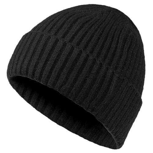 a05016750b1cc Oryer Mens Winter Hats Wool Knit Slouchy Beanie Warm Hat Baggy Skull Cap