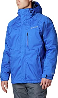 Standard Men's Alpine Action Winter Jacket, Waterproof & Breathable, Azul, Large