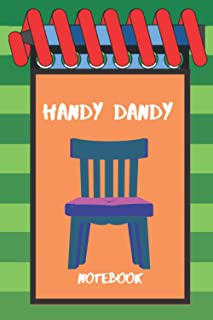 Handy Dandy Notebook: Handy Dandy Notebook: thinking chair notebook, Birthday Gift Notebook, Green & Blue Notepads for Kid...