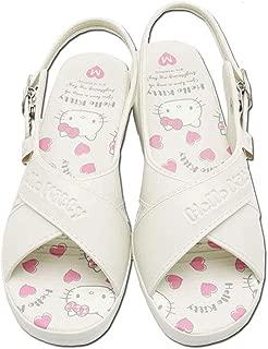 ハローキティ sa-02707(WH, M) 履きやすい ナースサンダル スベリ止付 レディース 婦人 SANRIO サンリオ キャラクター 靴 シューズ ファッション
