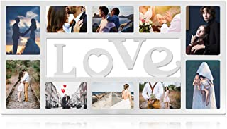 Neala Photo Frame, Collage and Family Picture Frame Wall Decoration Combination 4×6 Large White Plastic Photo Frame for Wall Hanging