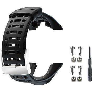 Bracelet pour bracelet en caoutchouc pour homme SUUNTO Ambit 1 2 3 2R 2S...