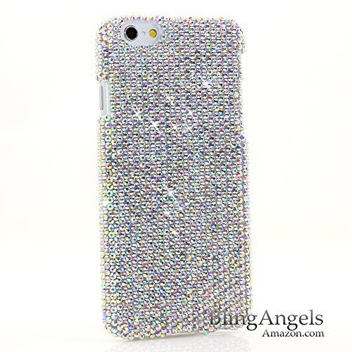 iPhone 6 Bling Case - Luxury Bling iPhone 6S Case Cover Handmade with Authentic AB Crystals