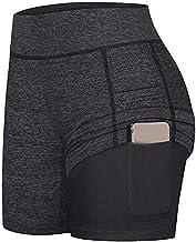 YAnGSale Shorts Women's Tennis Skort Pants Run Yoga Inner Shorts Elastic Sports Golf Pockets Skirt Jogger Track Cuff Sweat...