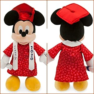Disney Mickey Mouse Plush 2020 Graduation - Small 14 Inches