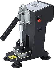 Slsy Mini Personal Heat Press Machine, 770lbs Max Pressing Force Manual Heat Presser, 2x3 Inch Heat Platen, Digital Contro...