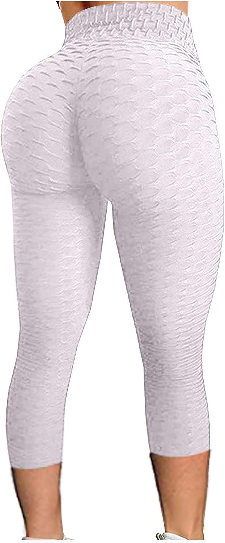 Elasticity Womens Yoga Pants High Waist Sweatpant Bubble Hip Trouser Lifting Exercise Fitness Running Butt Lift Legging