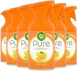 Air Wick Air Freshener Room Spray MediTERRANEAN SUN, paket med 6