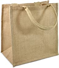 burlap shopping