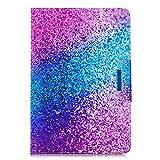 Coopay Pochette Folio Housse en Cuir PU Smart Cover pour Tablette Tactile 10' Glitter...