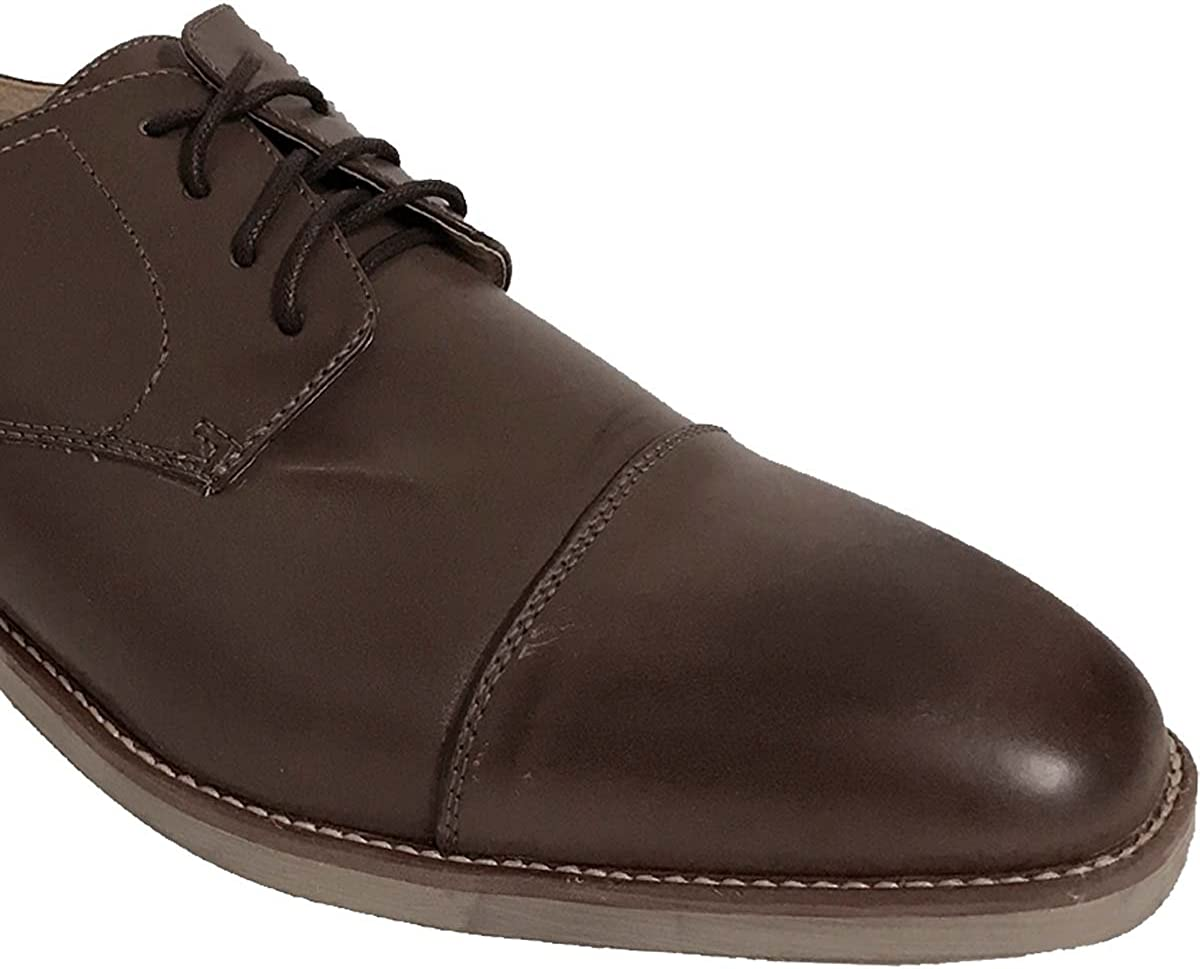 Shoe Artists Coffee Leather Lined Upper Oxfords