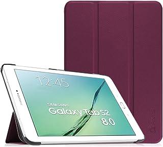 Fintie SlimShell Funda para Samsung Galaxy Tab S2 8.0 - Súper Delgada y Ligera Carcasa con Función de Soporte y Auto-Reposo/Activación para Modelo de SM-T710/T715/T719, Morado