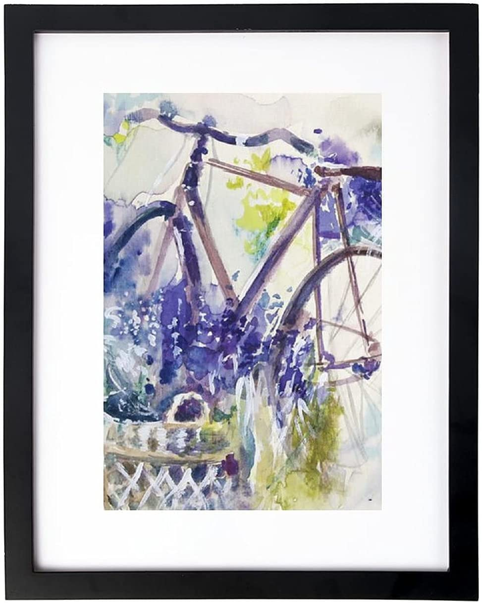 Cheyan Home Wood Framework The Bike Lavender Bargain sale Sol Ranking TOP19 Black 30×404