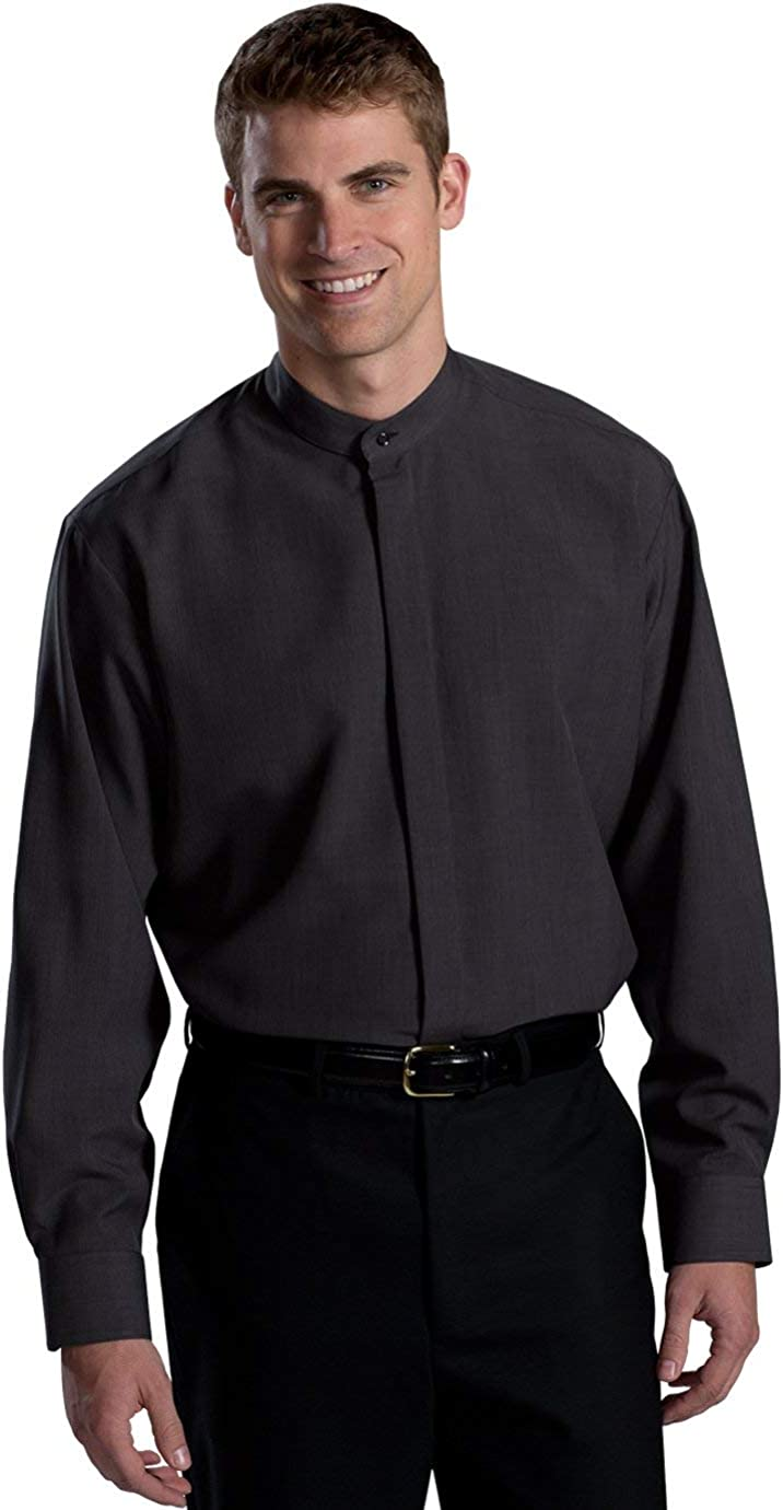 Edwards Max 54% OFF Garment Men's Long Sleeve Collar Ranking TOP13 S Pocket Comfort Banded