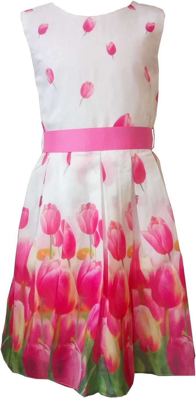 Kleid Weiß Pink  toronto 2021