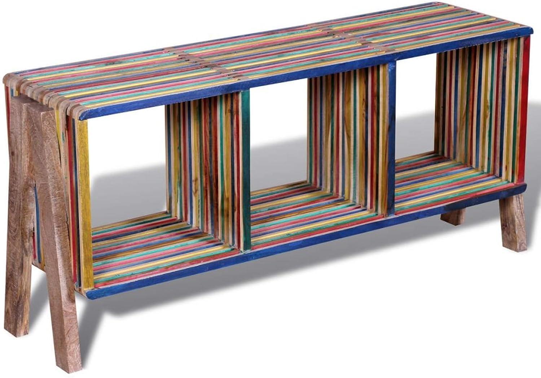 Reclaimed Teak Timber TV Cabinet Console Sideboard Side Table Storage Shelves