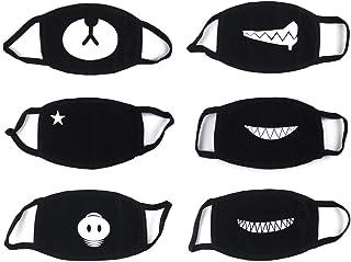6 Piezas Algodón Máscaras Bicicleta Máscara Protección